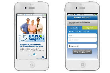 EMPLOI Soignant lance son application Iphone