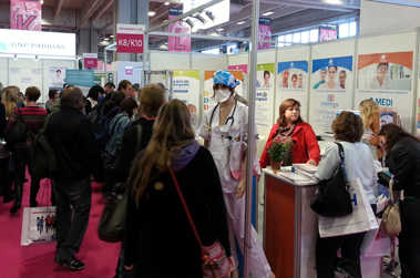 Salon Infirmier 2012 : en direct du stand K8-K10 – 1er jour