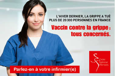 campagne vaccination grippe infirmiers ONI
