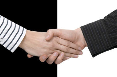 conciliation accord poignée de mains
