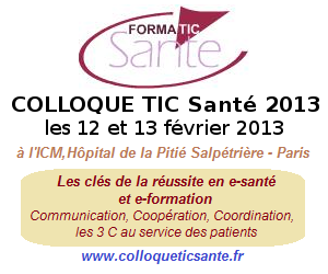 Colloque TIC Sante 2013