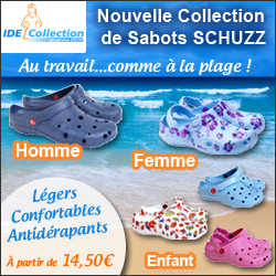 Nouvelle collection de sabots SCHUZZ
