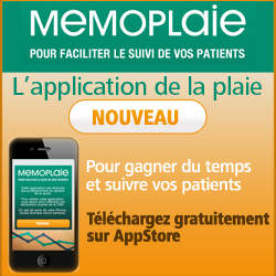 Memoplaie, l'application de la plaie