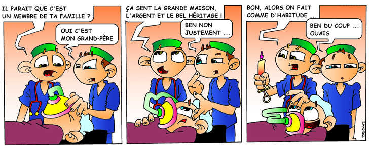 strip-stories d'un Ibode se poser les bonnes questions