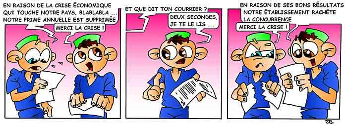 Strip-stories d'un Ibode – Vive la crise !