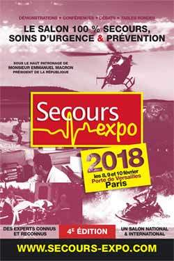 Secours Expo 2018 affiche
