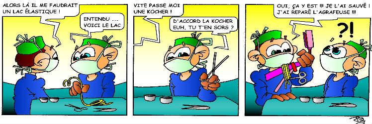 Strip-stories d'un Ibode – L'art de la récup !