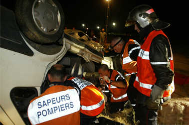 infirmiers de sapeurs pompiers intervention