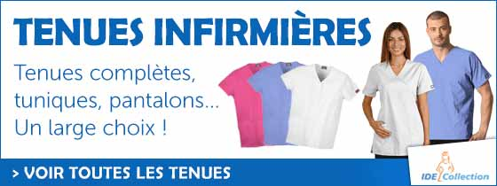IDE Collection tenues infirmières