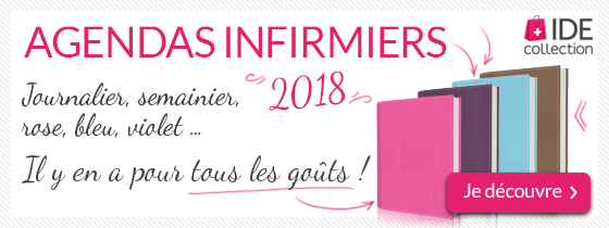 Agendas infirmiers 2018 IDE Collection