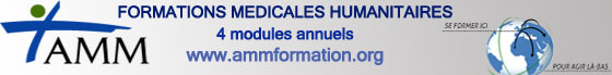 AMM Formation médicales humanitaires